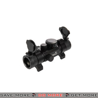 Lancer Tactical 1x30 Tactical Low Profile 4 Reticle Red Dot Reflex Sight Red Dot Sights- ModernAirsoft.com