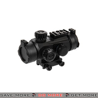 Lancer Tactical 1x Red & Green Dot Sight - Black Red Dot Sights- ModernAirsoft.com