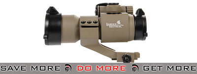 Lancer Tactical Red & Green Dot Sight w/ Rail Mount (Dark Earth) Red Dot Sights- ModernAirsoft.com
