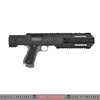 Lancer Tactical Carbine Conversion Kit for 1911 / MEU Series Airsoft GBB Pistols CA-500B - Black Conversion Kits- ModernAirsoft.com