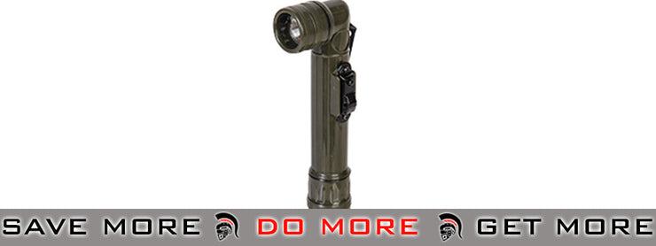 Lancer Tactical US Military Style Flashlight w/ Switchguard (OD Green) flashlight- ModernAirsoft.com