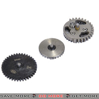 Lancer Tactical Reinforced Steel Straight Cut V2.5 SR25 Gear Set Gears- ModernAirsoft.com