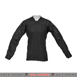 Lancer Tactical TLS Halfshell Combat Shirt CA-796SM - Small, Black Shirts- ModernAirsoft.com