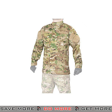 Lancer Tactical Airsoft R6 Style BDU Uniform Shirt CA-818 - Multicam Shirts- ModernAirsoft.com