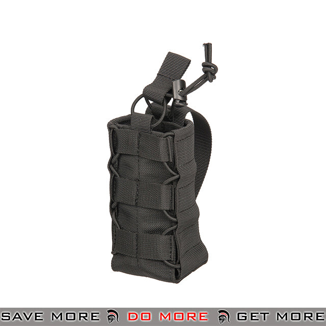 Lancer Tactical Modular Expanding Taco Radio Water Bottle Pouch CA-881BN - Black Others / Pouch Accessories- ModernAirsoft.com