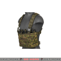 Lancer Tactical Lightweight Chest Rig w/ Concealed Magazine Pouch CA-882P - Greenzone Chest Rigs & Harnesses- ModernAirsoft.com
