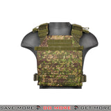 Lancer Tactical Lightweight Plate Carrier CA-883P - Greenside plate carrier- ModernAirsoft.com