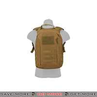 Lancer Tactical MOLLE Scout Recon Pack CA-L113CB - Coyote Brown Backpacks- ModernAirsoft.com