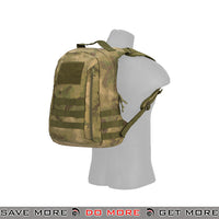 Lancer Tactical MOLLE Scout Recon Pack CA-L113FG - A-TACS FG Backpacks- ModernAirsoft.com