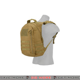 Lancer Tactical MOLLE Scout Recon Pack CA-L113T - Tan Backpacks- ModernAirsoft.com