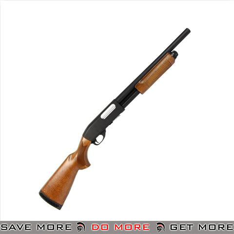 Classic Army CA870 Spring Powered Police Shotgun [ CA-S012W ] - Real Wood