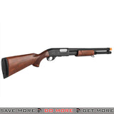 Classic Army CA870 Spring Powered Tactical Shotgun [ CA-S013W ] - Real Wood