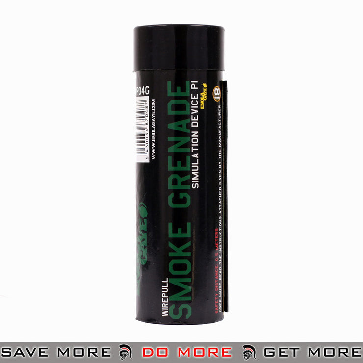 Enola Gaye Airsoft Green Wire Pull Smoke Grenade WP40