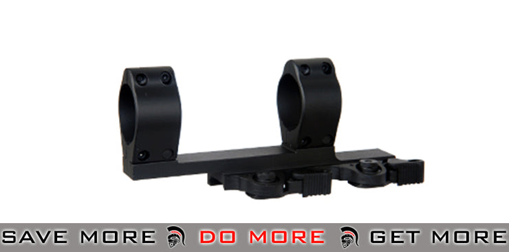 Cyma Tactical 30mm SPR Type QD Double Scope Mount Scope Mount Base- ModernAirsoft.com