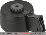 A&K 3000rd Auto Winding/Sound Controlled Drum Magazine for M4/M16  Series Airsoft AEG Electric Gun Magazine- ModernAirsoft.com