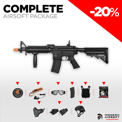 "PRE-ORDER - ""New Player"" COMPLETE Airsoft Package"