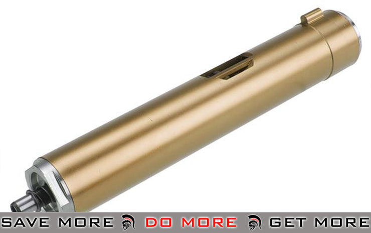 A&K Gold (M110) Cylinder Set for Systema PTW / CTW / STW M4 Series Airsoft AEG Rifles - Tune-Up Kits- ModernAirsoft.com