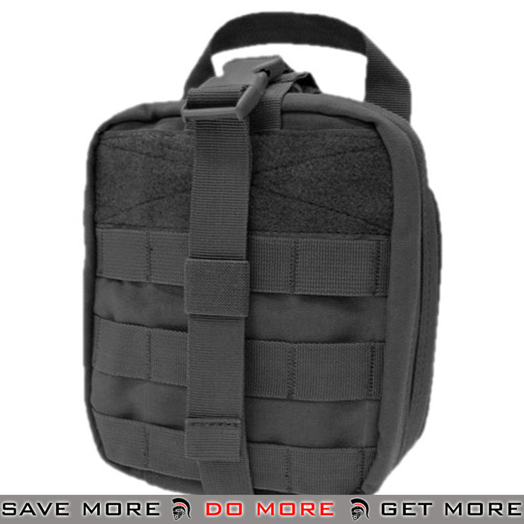 Condor Black MOLLE Ready Rip-Away EMT pouch Black Pouches- ModernAirsoft.com