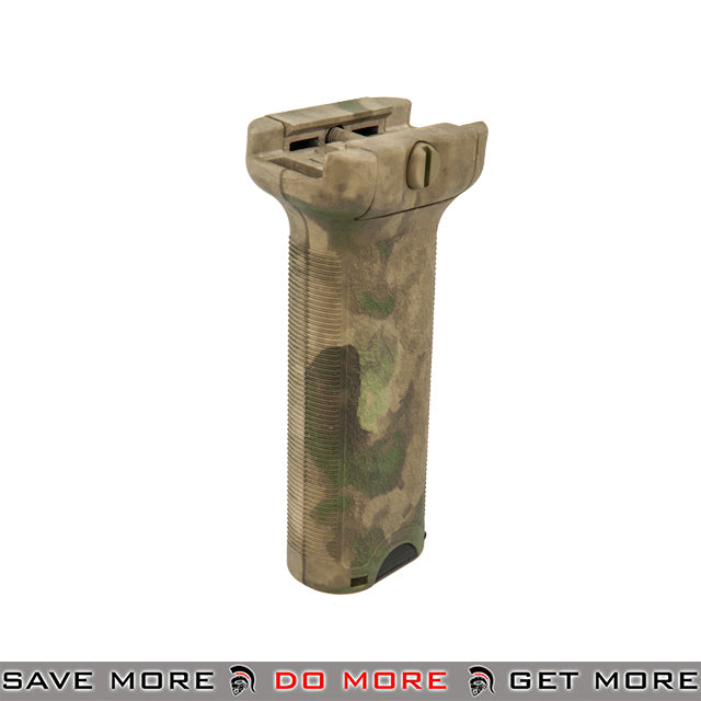Dytac Tactical Bravo Style Long Vertical Foregrip D-G12AF - A-TACS FG Vertical Grips- ModernAirsoft.com