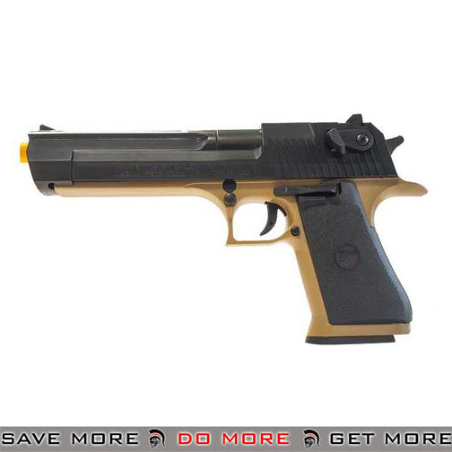DESERT EAGLE 50AE TWO TONE SPRING AIRSOFT PISTOL