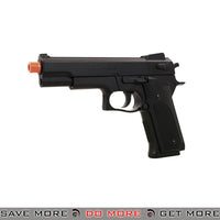 UK Arms M24 Airsoft Full Size Spring Powered Pistol w/ Silencer