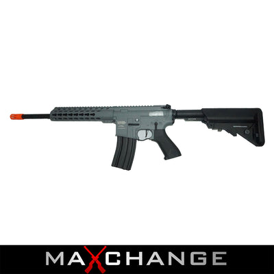 MaxChange Used Lancer Tactical LT-12 ProLine Series M4 Carbine Airsoft AEG Grey