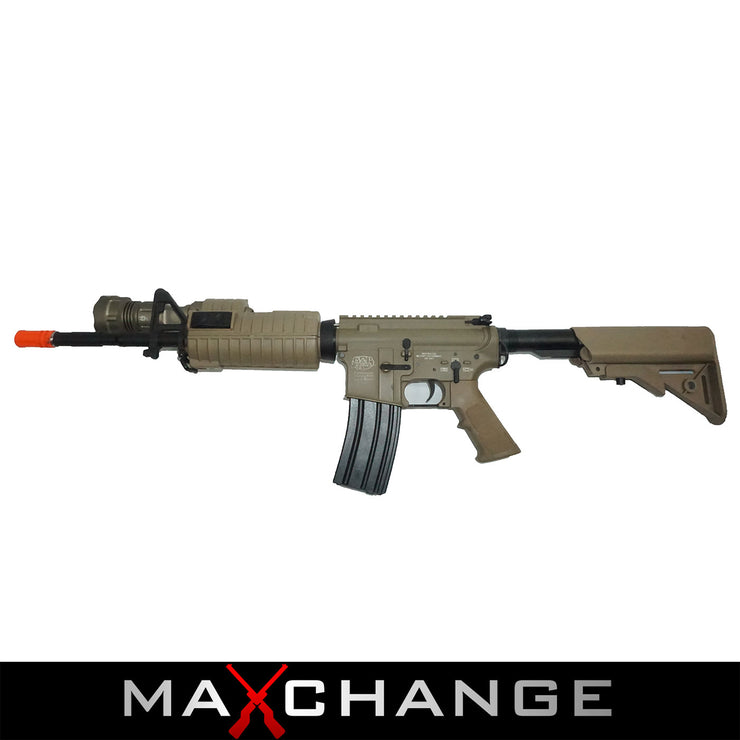 MaxChange Used Custom Class I G&P M4 Airsoft AEG Rifle - Special Forces