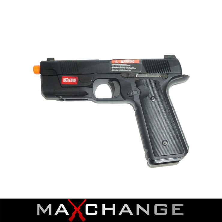 MaxChange Open Box EMG / Hudson™ H9 Gas Blowback Airsoft Parallel Training Weapon