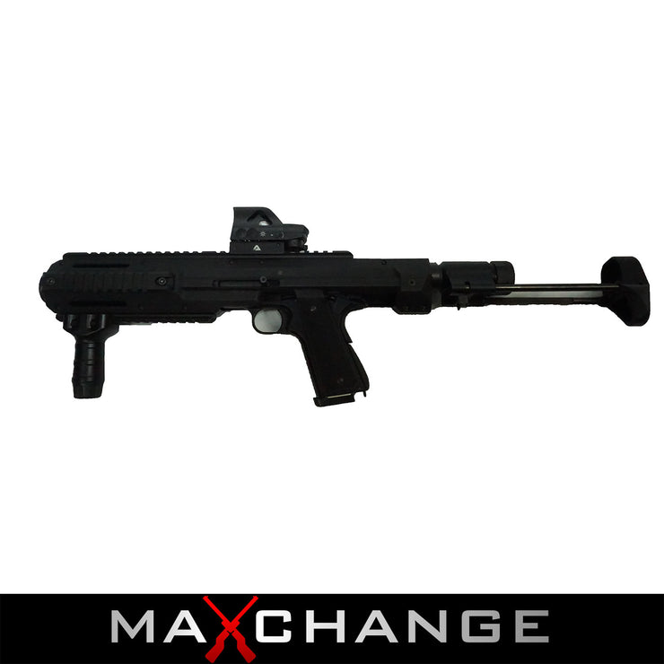 MaxChange Used CARBINE CONVERTED 1911 GBB PISTOL WITH PDW STOCK