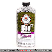 G&G Bio .33G 5600 Rounds Bottle BB GREY