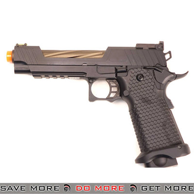 MAXPRESS JAG Arms GMX 5.1 Hi-Capa Series Airsoft Gas Blow Back Pistol