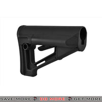 Magpul STR MilSpec Adjustable Collapsible Rifle Carbine Stock w/ QD Sling Mount DSG-MAG470-BLK - Black Stocks- ModernAirsoft.com