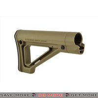 Magpul MOE Fixed MilSpec Carbine Stock DSG-MAG480-DE - Dark Earth Stocks- ModernAirsoft.com