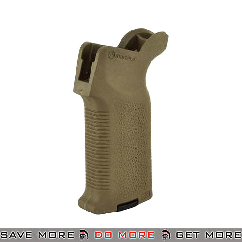 Magpul MOE-K2 Grip for Airsoft M4 / M16 GBB Rifles - Dark Earth Motor / Hand Grips- ModernAirsoft.com