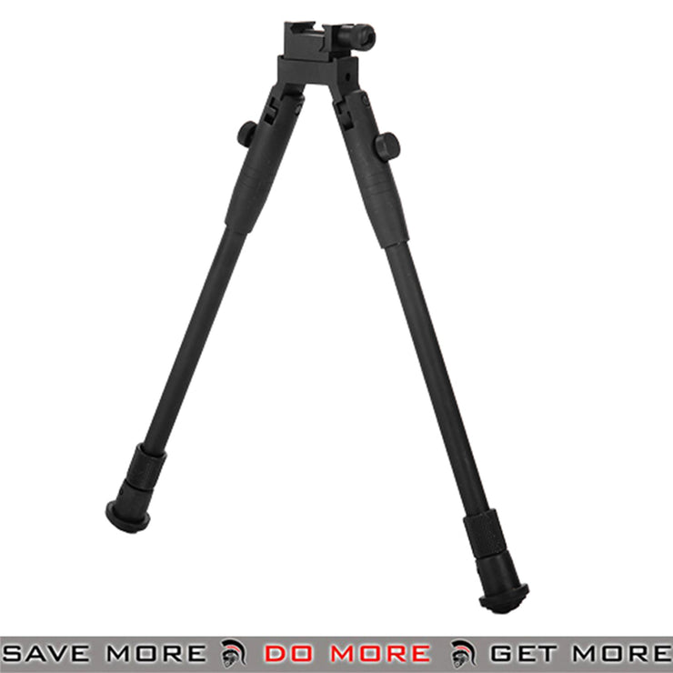 Double Eagle Retractable Airsoft Bipod Weaver Mount - LA22