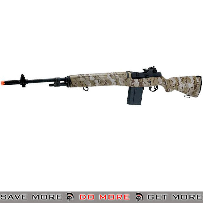 G&G Full Size M14 Airsoft AEG Rifle (Desert Digital)