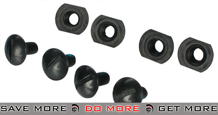 Helmet Screw Pack for Airsoft MICH ACH PASGT Helmets Head - Helmet Accessories- ModernAirsoft.com