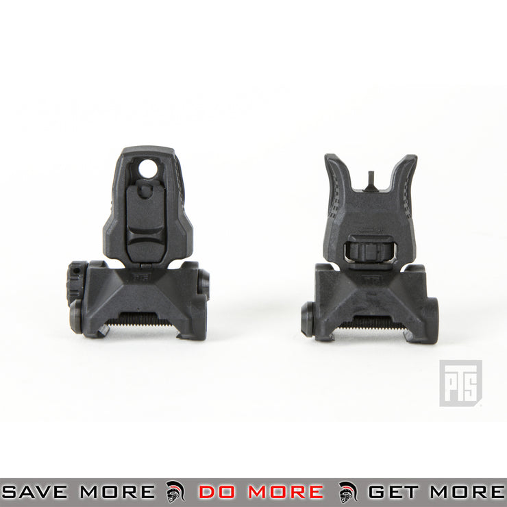 PTS Enhanced Polymer Back-Up Iron Sight (EP BUIS) - Black iron sights- ModernAirsoft.com