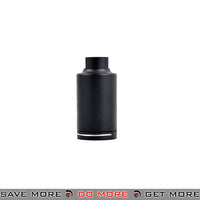 Element NOV M4 Mini Version Flash Hider Skull Frog - Black Flash Hiders- ModernAirsoft.com