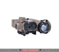 Element DBAL Red Flashlight and Laser (Dark Earth) Lasers- ModernAirsoft.com