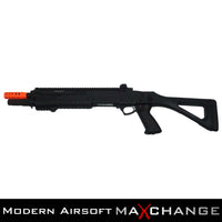 MaxChangeOpen Box/Refurbished Fabarms STF12 Pump Action CO2 Powered 3 / 6 Shot Airsoft Shotgun