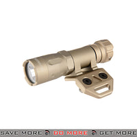 Opsmen FAST 301 800 Lumen Stainless Steel Keymod Mount Flashlight [ FAST301K-TN ] - Tan