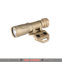 Opsmen FAST 301 800 Lumen Stainless Steel M-LOK Mount Flashlight [ FAST301M-TN ] - Tan