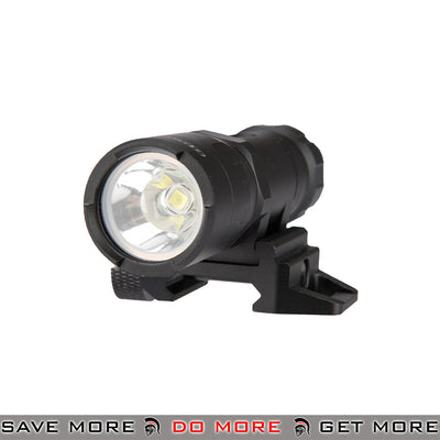 Pre-Order ETA June 2020 - Opsmen FAST 301 800 Lumen Stainless Steel Picatinny Mount Flashlight [ FAST301R-BK ] - Black