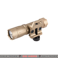 Opsmen FAST 301 800 Lumen Stainless Steel Picatinny Mount Flashlight [ FAST301R-TN ] - Tan