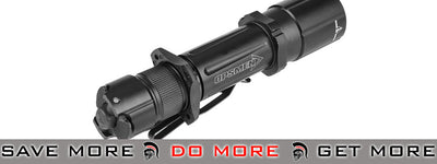 Opsmen FAST 501 800 Lumen Steel Flashlight (Black) flashlight- ModernAirsoft.com