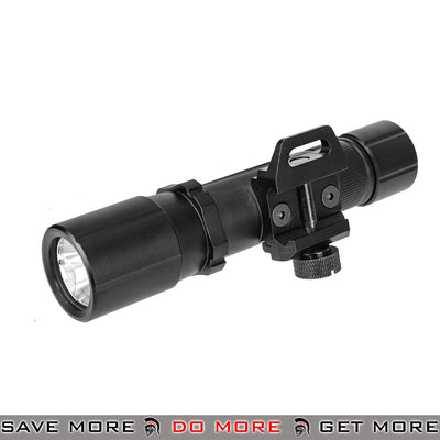Pre-Order ETA June 2020 - Opsmen FAST 501 Series 1000 Lumen Steel Picatinny Mount Flashlight [ FAST501R-BK ] - Black