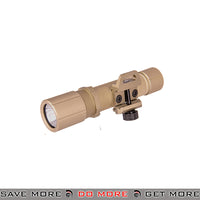 Opsmen FAST 501 Series 1000 Lumen Steel Picatinny Mount Flashlight [ FAST501R-TN ] - Tan