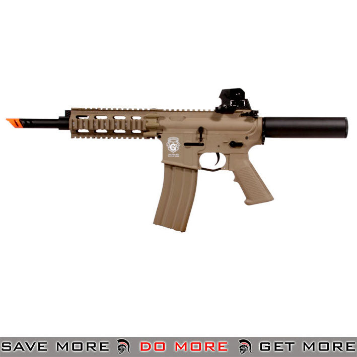 G&G Blowback GR16 CQW WASP Airsoft AEG Rifle (Desert Tan)