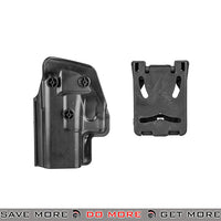 UKARMS G002 Hard Shell Quick Draw Pistol Speed Belt Holster Holsters - Hard Shell- ModernAirsoft.com